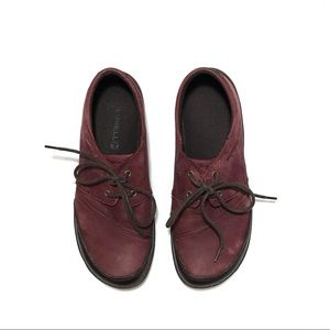 Merrell suede lace up shoes